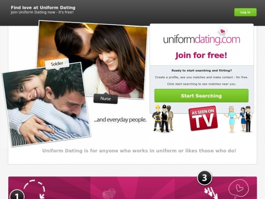 uniform dating free site