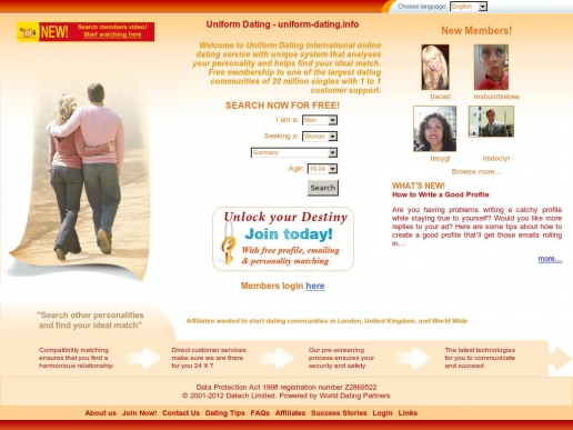 uniform-dating.info thumbnail