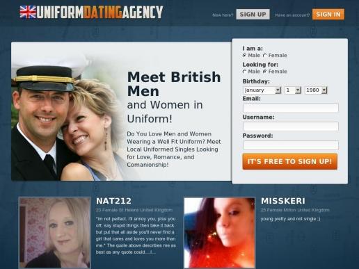 uniformdatingagency.co.uk thumbnail
