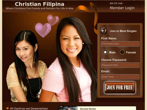 filipina christian dating Dating service for single men looking for a penpal or mail order wife.