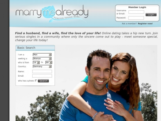 marrymealready.com thumbnail