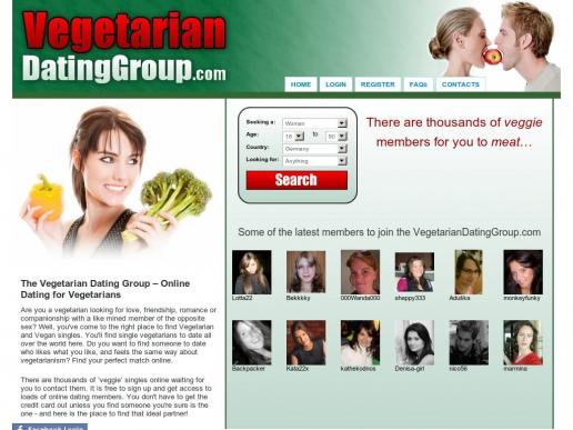 Vegan dating website