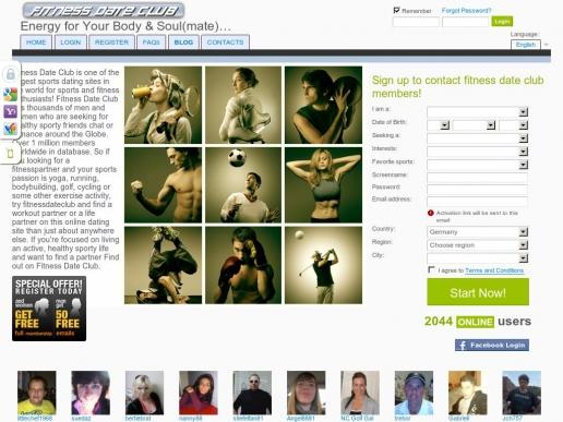 Fitness internet dating