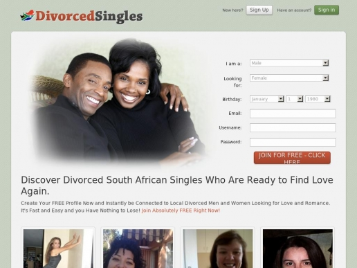 divorcedsingles.co.za thumbnail