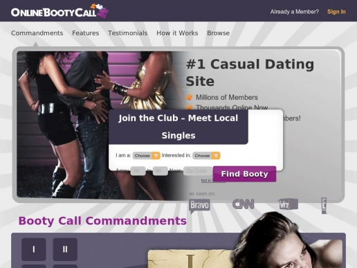 onlinebootycall.com thumbnail