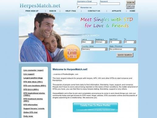 herpesmatch.net thumbnail