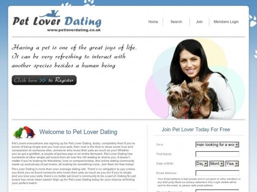 petloverdating.co.uk thumbnail