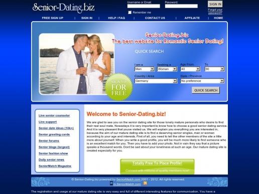 senior-dating.biz thumbnail