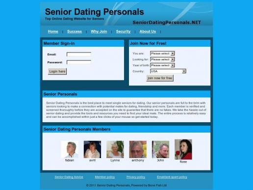 seniordatingpersonals.net thumbnail