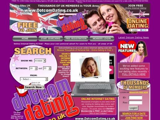 dotcomdating.co.uk thumbnail