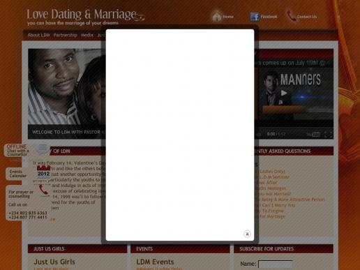 lovedatingandmarriage.org thumbnail