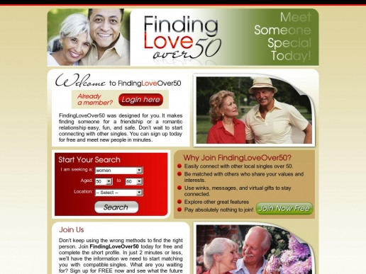 findingloveover50.co.uk thumbnail