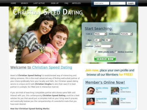 Christian speed dating atlanta