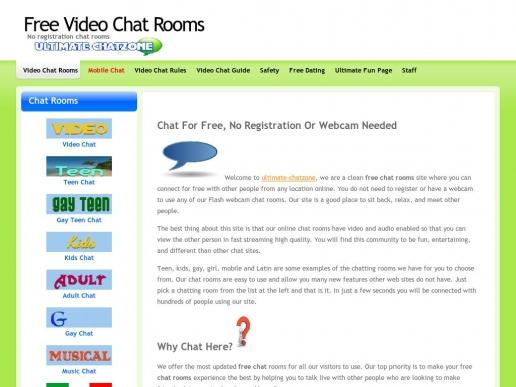 ultimate-chatzone.com thumbnail