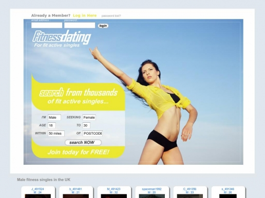 fitnessdating.co.uk thumbnail