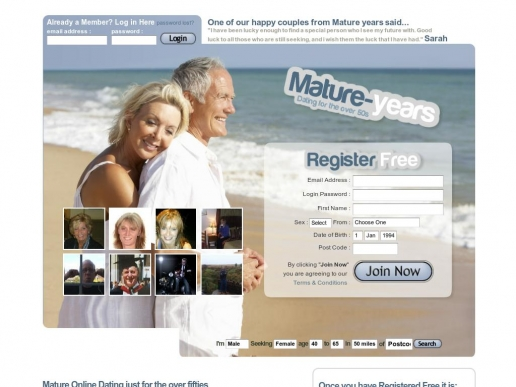 mature-years.co.uk thumbnail