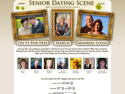 seniordatingscene.co.uk thumbnail