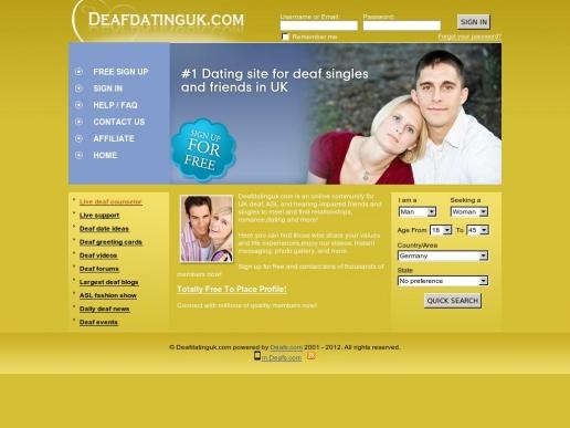 Deaf dating site uk