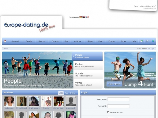 europe-dating.de thumbnail