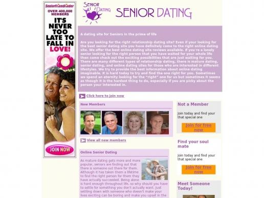 theseniordating.com thumbnail