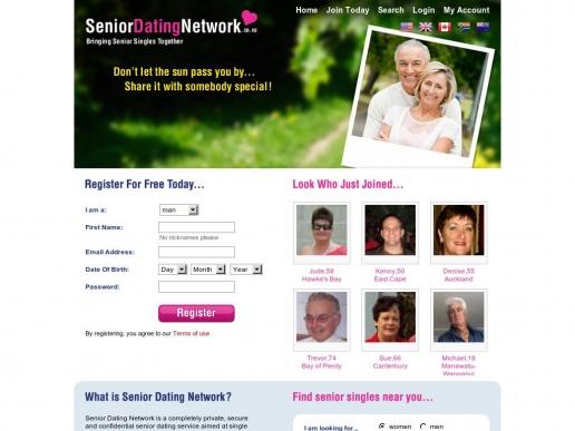 seniordatingnetwork.co.nz thumbnail