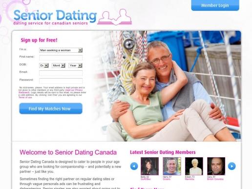 seniordating.ca thumbnail