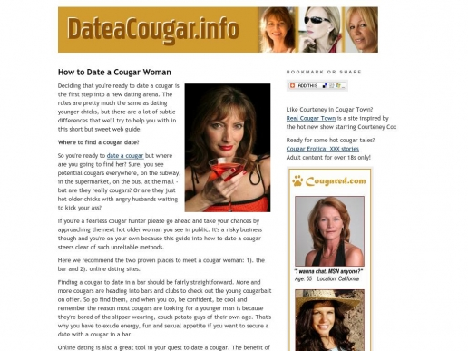 dateacougar.info thumbnail