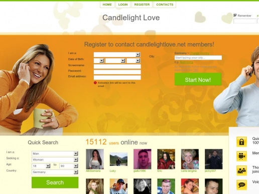 candlelightlove.net thumbnail