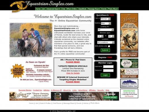 equestriansingles.com thumbnail