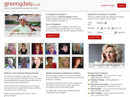 grannydate.co.uk thumbnail