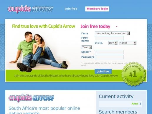 cupidsarrow.co.za thumbnail