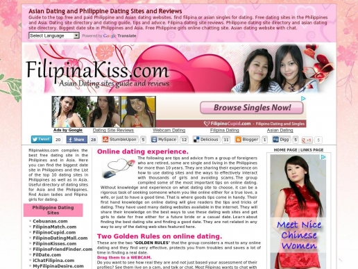 Asian dating site guide filipino cupid