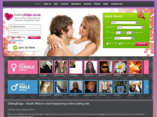 datingedge.co.za thumbnail