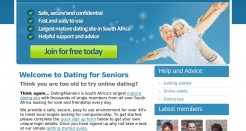 dating4seniors.co.za thumbnail