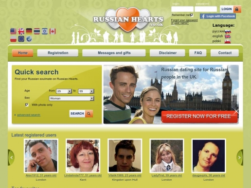 russianhearts.co.uk thumbnail