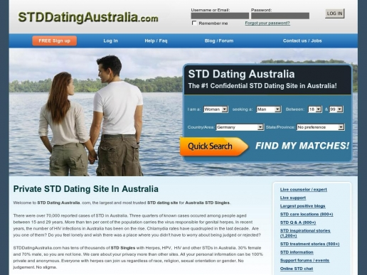 stddatingaustralia.com thumbnail