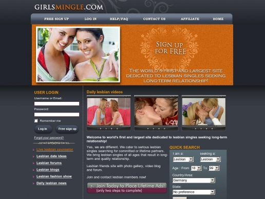 girlsmingle.com thumbnail