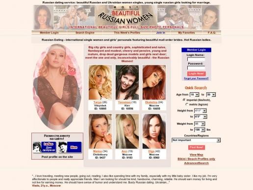 mostbeautifulrussianwomen.com thumbnail