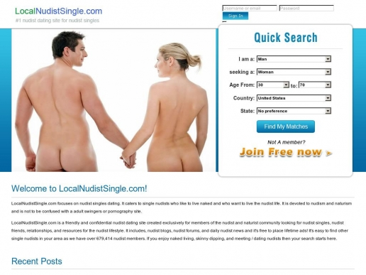 LocalNudistSingle.com thumbnail