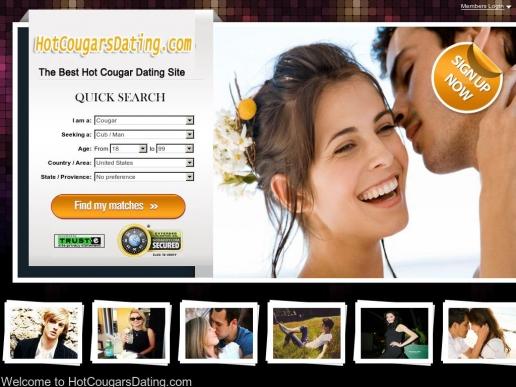 hotcougarsdating.com thumbnail