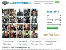 singleharleyriders.org thumbnail
