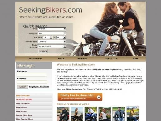 seekingbikers.com thumbnail