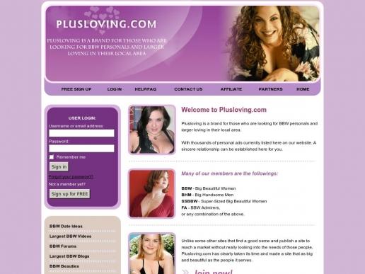 plusloving.com thumbnail