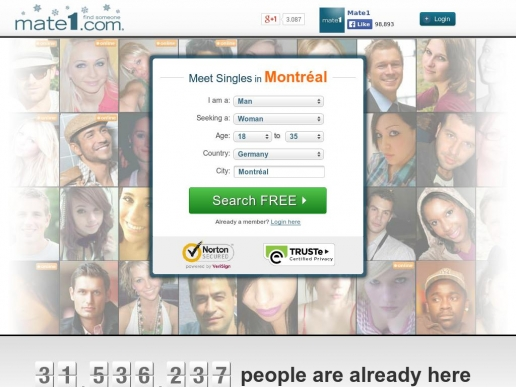 mate1.com thumbnail