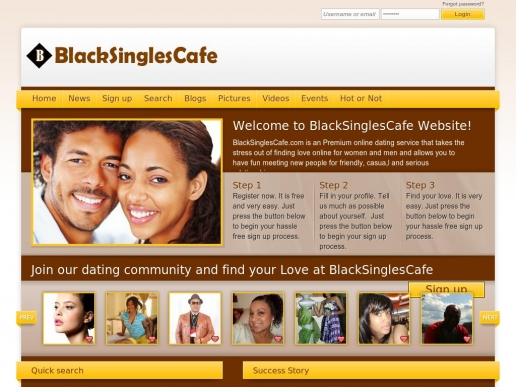 blacksinglescafe.com thumbnail