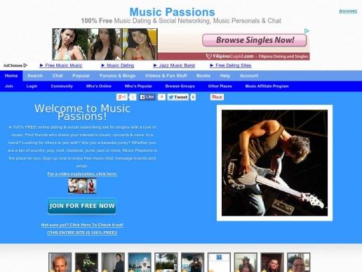 musicpassions.com thumbnail