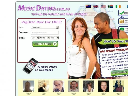 musicdating.com.au thumbnail