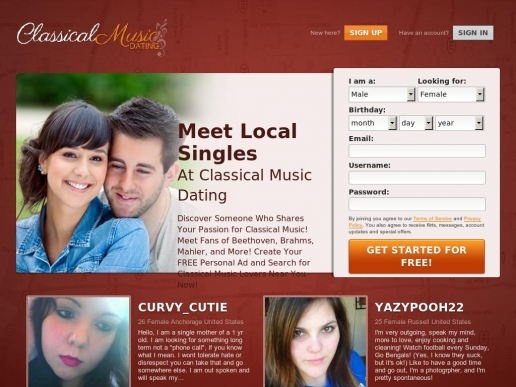 classicalmusicdating.net thumbnail