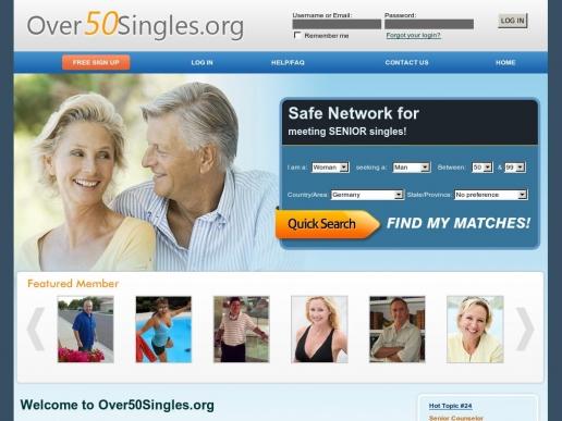Over50Singles.org thumbnail