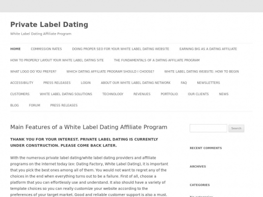 privatelabeldating.com thumbnail
